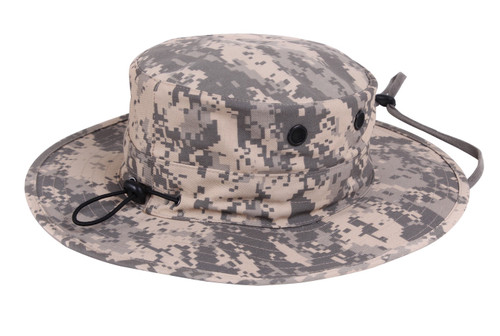ACU Digital Camo Adjustable Boonie Hat