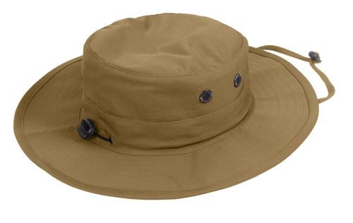 Coyote Brown Adjustable Boonie Hat