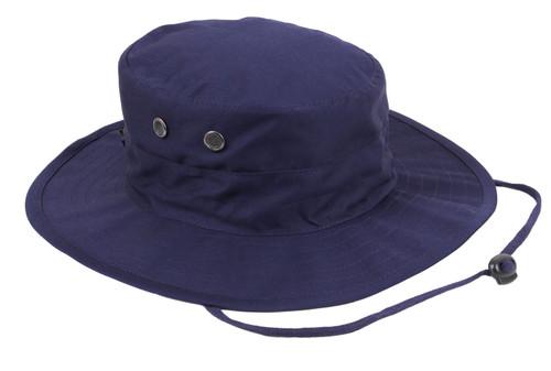 Navy Blue Adjustable Boonie Hat