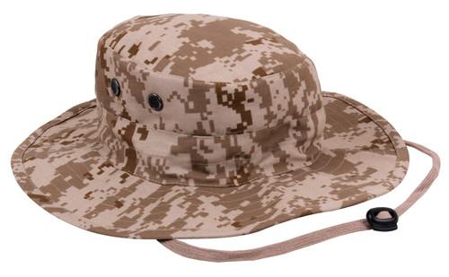 Desert Digital Camo Adjustable Boonie Hat