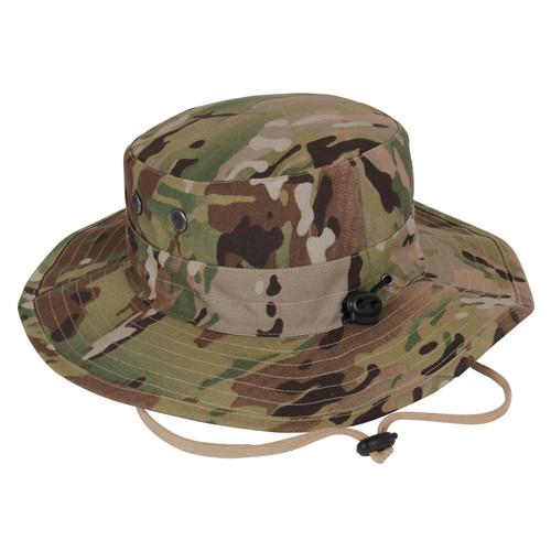 Multi Cam Camo Adjustable Boonie Hat
