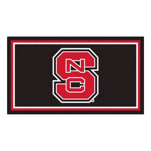 NC State University 3' x 5' Ultra Plush Area Rug