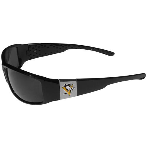Pittsburgh Penguins Chrome Wrap Sunglasses Color