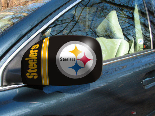 Pittsburgh Steelers Mirror Cover Set