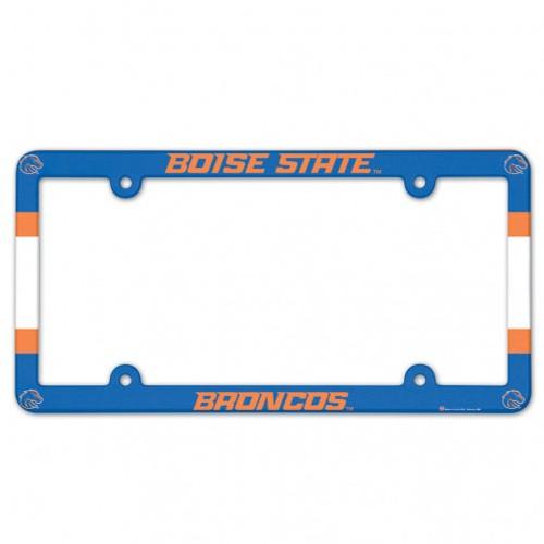 Boise State Broncos NCAA Team Color License Plate Frame