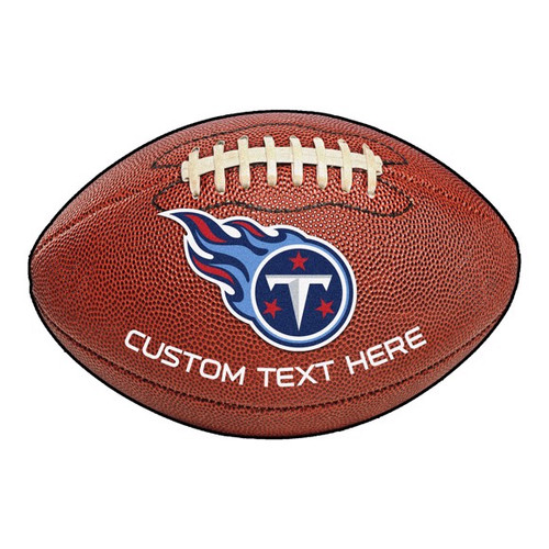 Tennessee Titans Personalized Football Mat
