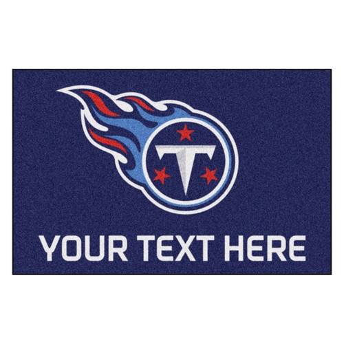 Tennessee Titans Personalized Mat