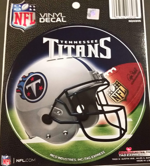 Tennessee Titans Helmet Decal