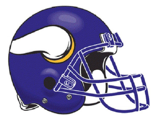 Minnesota Vikings Decal - Helmet