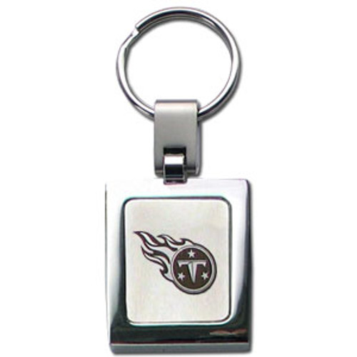Tennessee Titans Laser Etched Key Chain - Square
