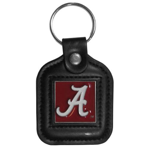 Alabama Crimson Tide Square Fob Key Chain