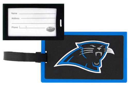 Carolina Panthers NFL Luggage Golf Bag Tag