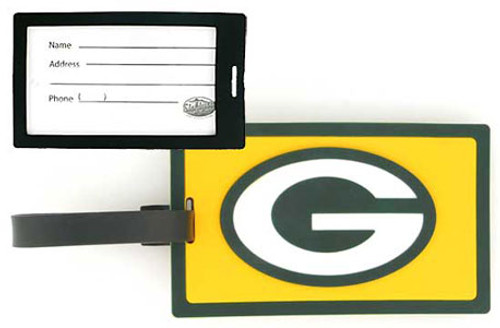 Green Bay Packers NFL Luggage Golf Bag Tag