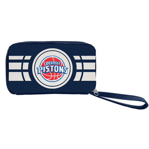 Detroit Pistons Ripple Zip Wallet