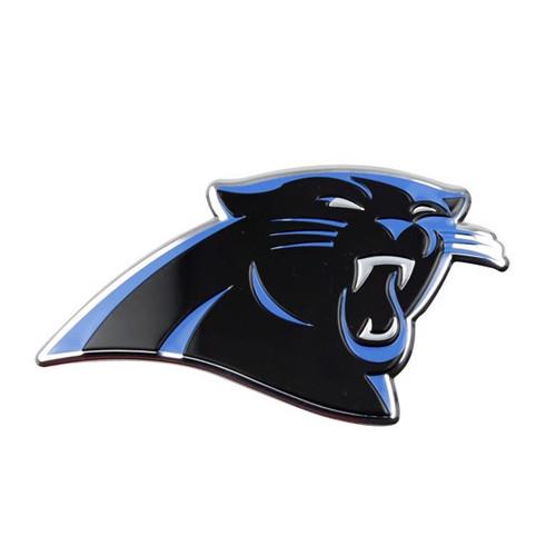 Carolina Panthers Embossed Color Emblem