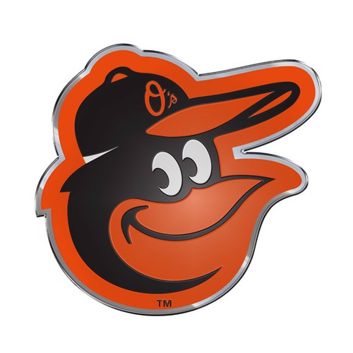 Baltimore Orioles Embossed Color Emblem