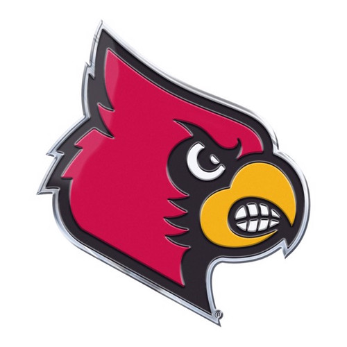 Louisville Cardinals Embossed Color Emblem