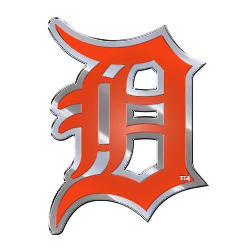 Detroit Tigers Embossed Color Emblem