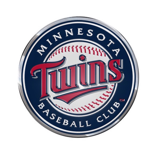 Minnesota Twins Embossed Color Emblem
