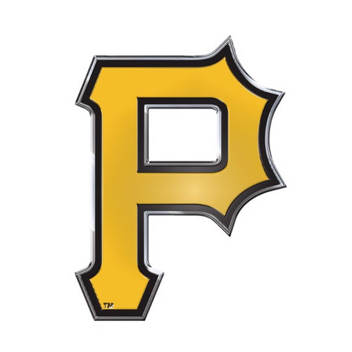 Pittsburgh Pirates Embossed Color Emblem