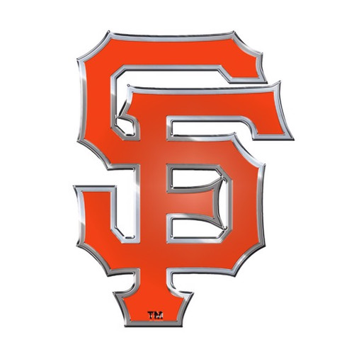 San Francisco Giants Embossed Color Emblem