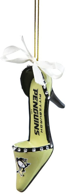 Pittsburgh Penguins NHL High Heel Shoe Ornament