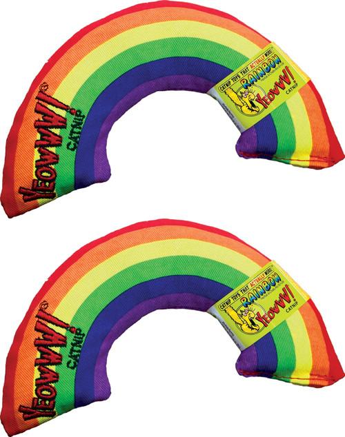 Cat Toy Rainbow Catnip Toy - 2 Pack