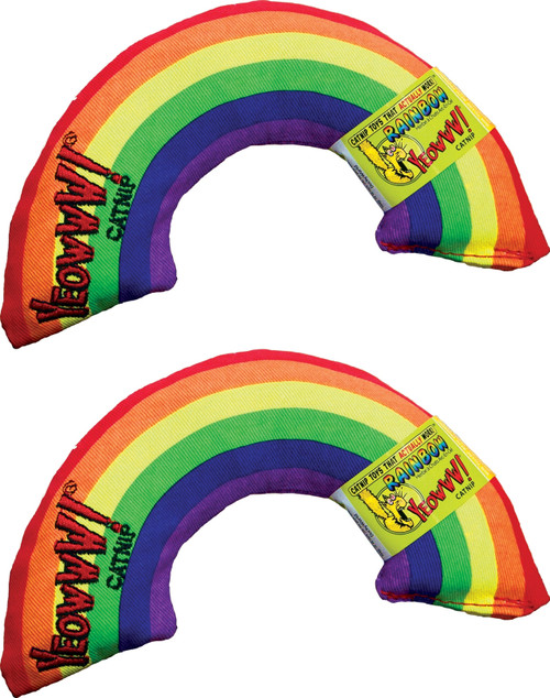 Cat Toy Rainbow Catnip Toy - 2 Pack