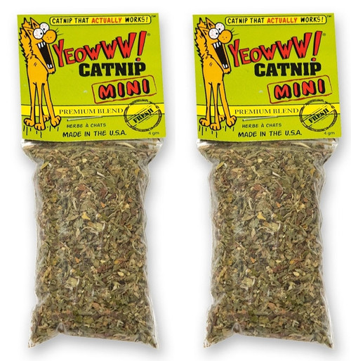 Catnip Bag Mini Singles - 2 Pack