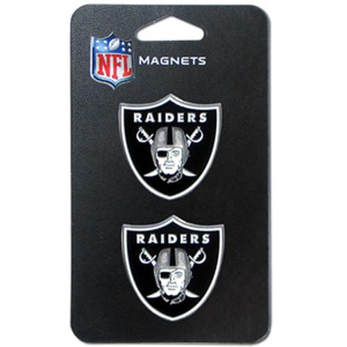 Las Vegas Raiders NFL 3D Magnet Set