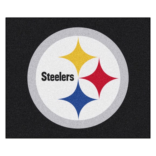 Pittsburgh Steelers Tailgater Mat - Steelers Logo