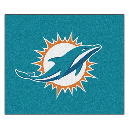 Miami Dolphins Tailgater Mat - Dolphins Logo