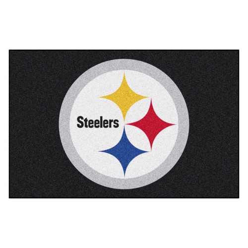 Pittsburgh Steelers Mat - Steelers Logo