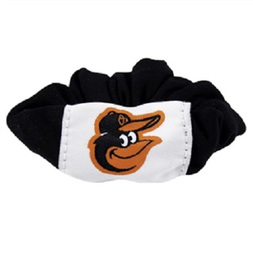 Baltimore Orioles Scrunchie Hair Twist Tie - Black