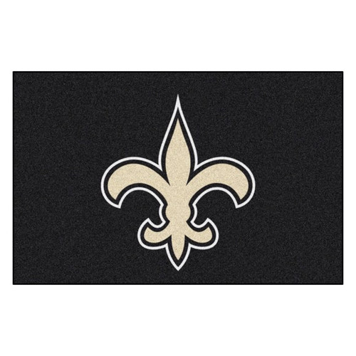 New Orleans Saints Mat - Saints Logo