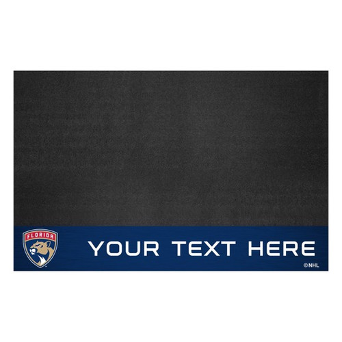 Florida Panthers Personalized Grill Mat