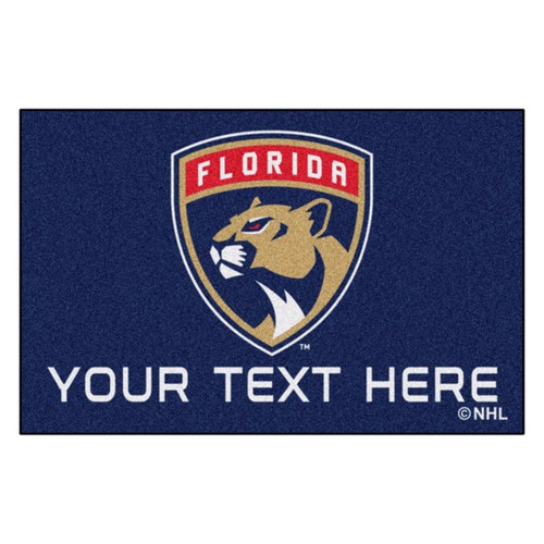 Florida Panthers Personalized Mat