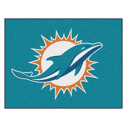 Miami Dolphins Mat - Dolphins Logo
