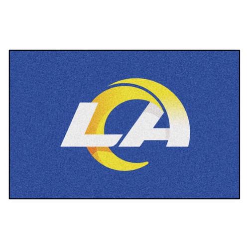 Los Angeles Rams Mat - Rams Logo