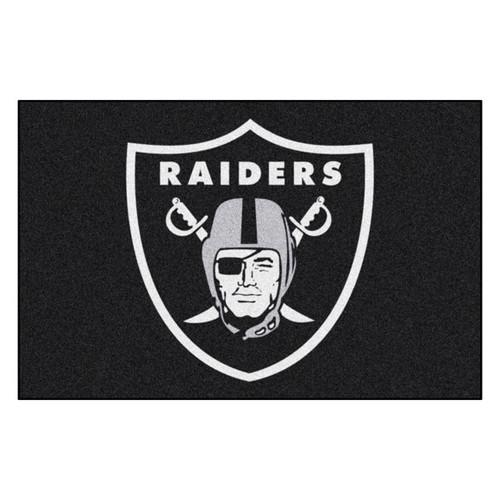 Las Vegas Raiders Mat - Raiders Logo