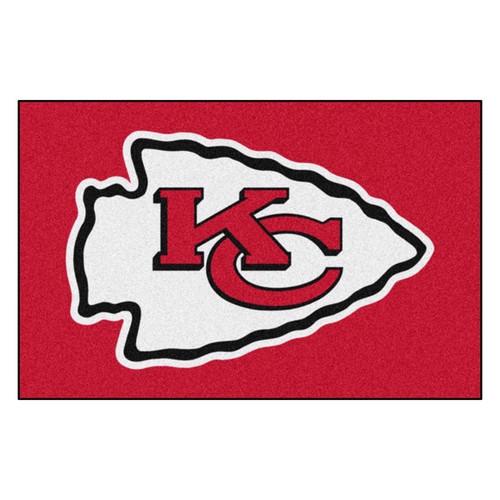 Kansas City Chiefs Mat - Chiefs Logo