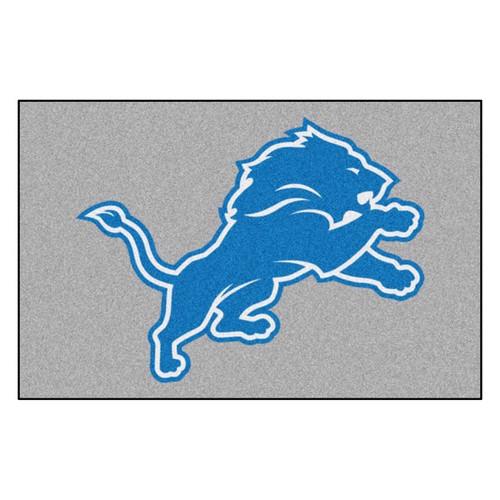 Detroit Lions Mat - Lions Logo
