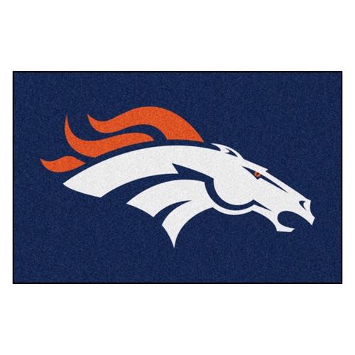 Denver Broncos Mat - Broncos Logo