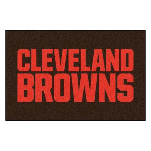 Cleveland Browns Mat - Browns Logo