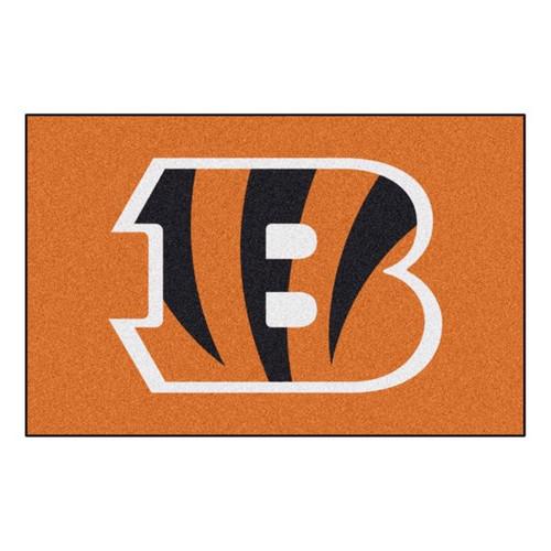 Cincinnati Bengals Mat - Bengals Logo