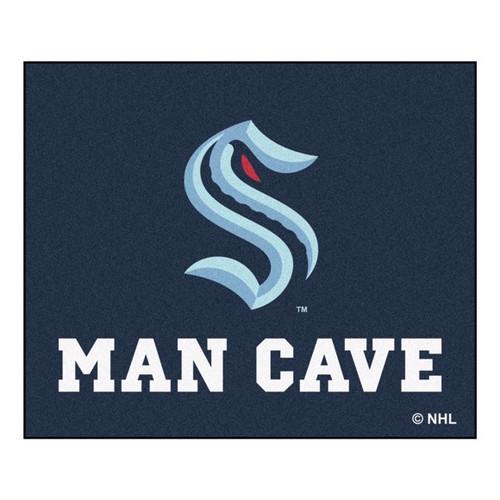 Seattle Kraken NHL Man Cave Tailgater Mat