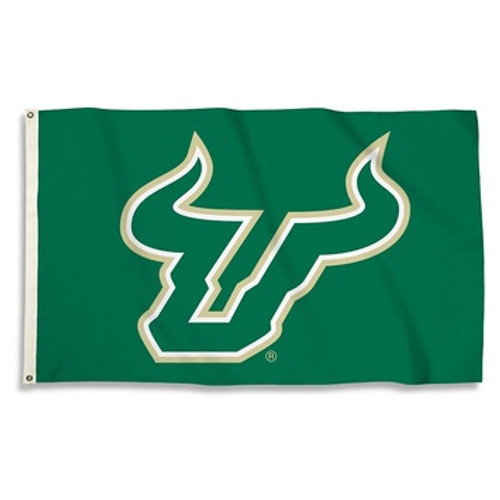 USF - South Florida Bulls Flag - Bulls Logo