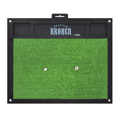 Seattle Kraken NHL Hockey Golf Hitting Mat