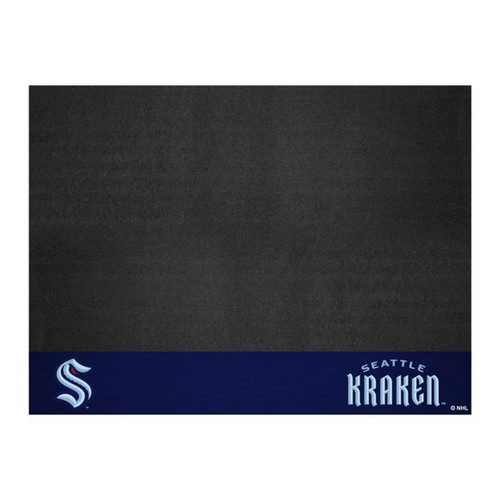 Seattle Kraken NHL Hockey Grill Mat