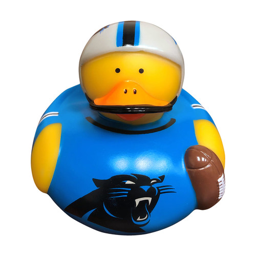 Carolina Panthers NFL Toy Rubber Duck